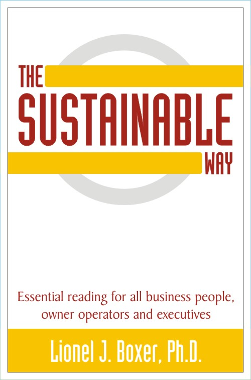 Click here to read about my book The Sustainable Way